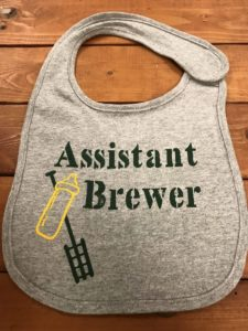 Assistant Brewer Bib – Front
